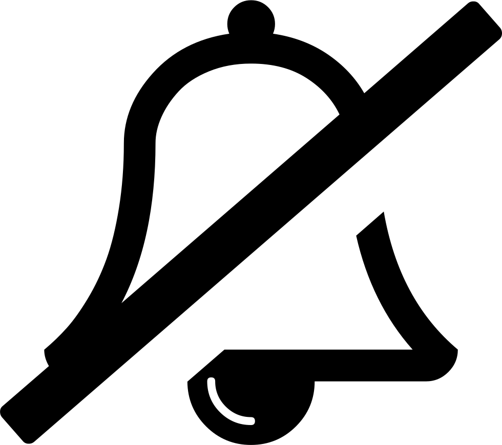 picture download Bell Slash O Svg Png Icon Free Download