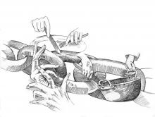 jpg royalty free download Reasons for the perpetuation. Slavery drawing pencil
