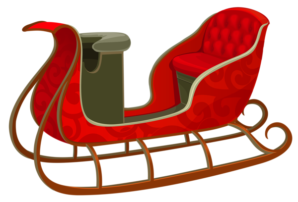image stock Sled clipart.  collection of red.