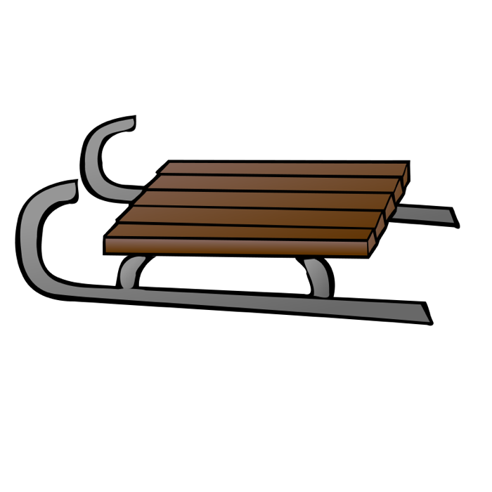 svg transparent download Sled clipart. Image result for drawing.