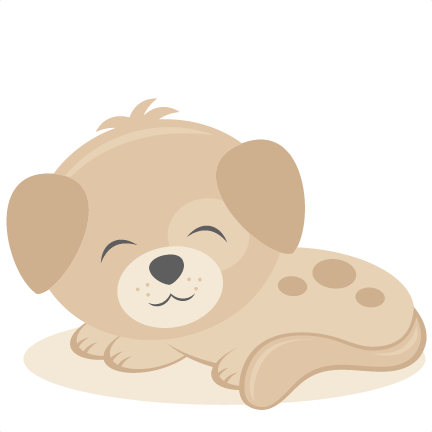 png library stock Sleeping puppy svg scrapbook cut file cute clipart files for