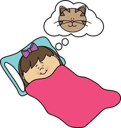 graphic library library Wake clipart healthy sleep. Clip art images girl.