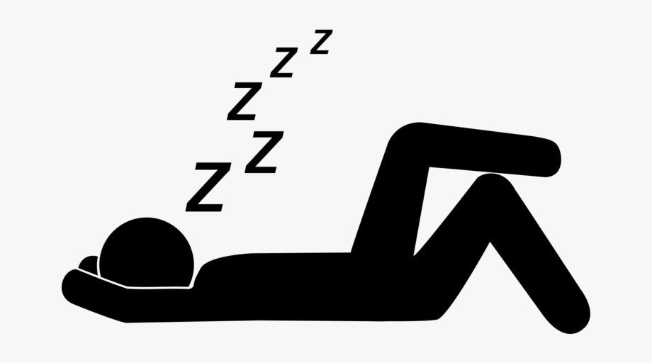 clipart black and white Sleeping transparent. Png images free download