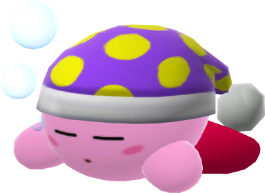 banner freeuse library transparent kirby sleep #116984914