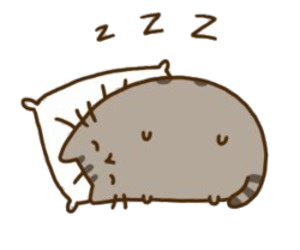 vector royalty free library Pusheen Sleeping transparent PNG