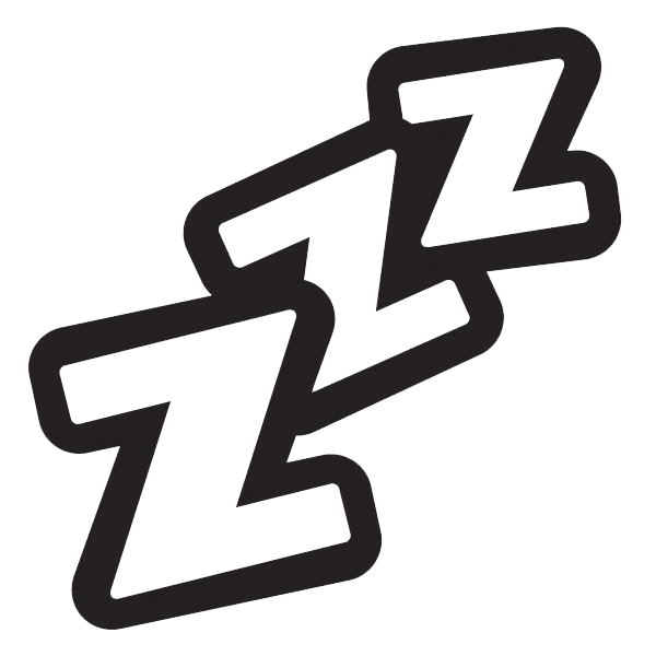 png royalty free sleeping z's clipart #67465695
