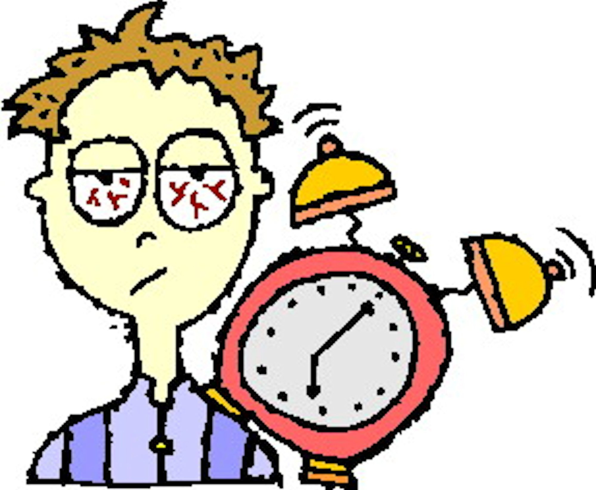 graphic royalty free Waking clipart insomnia. Free download best on