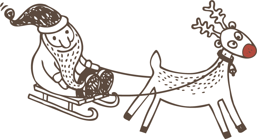 clipart free download One Horse Open Sleigh Clipart