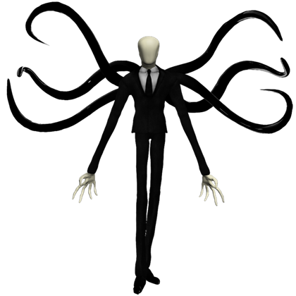 png freeuse download Slender Man transparent creepy scary