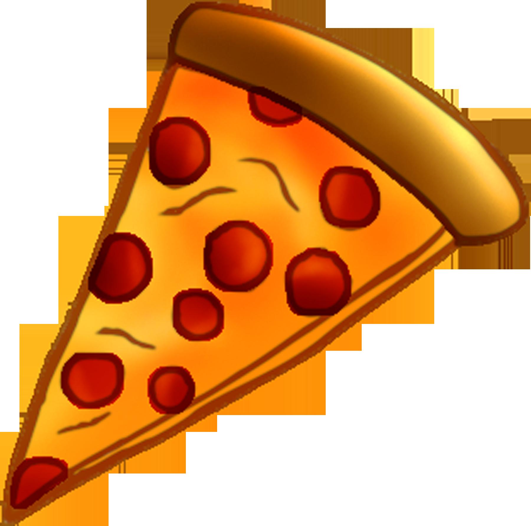 banner stock Pizza Slice Clipart
