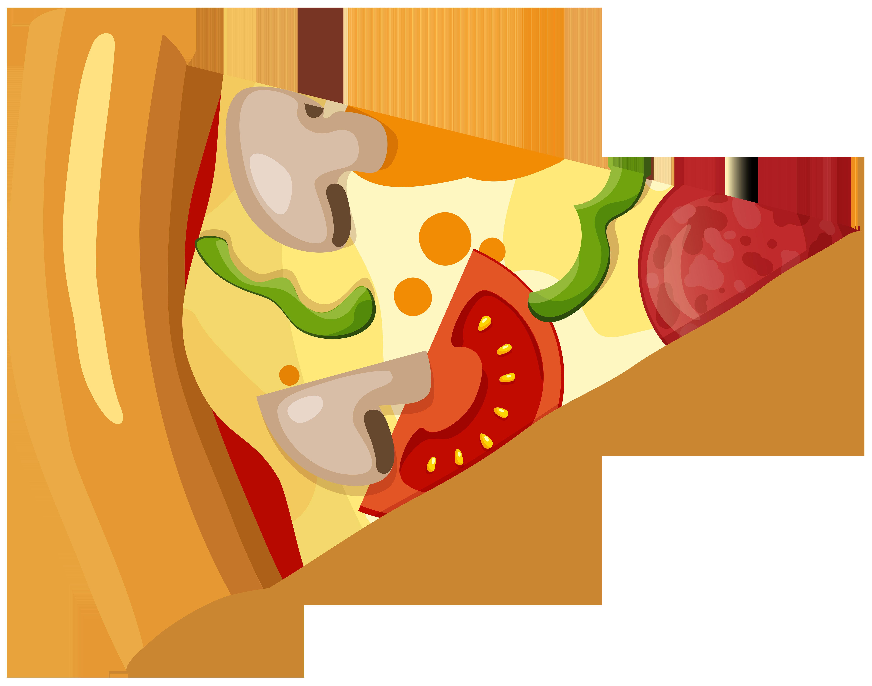 svg transparent library Pizza Slice PNG Clip Art