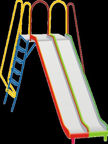 transparent stock Playground Slides