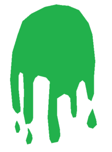 graphic royalty free Free images at clker. Slime vector.