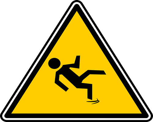 vector transparent download Slip trip fall symbols. Wet clipart slips and falls