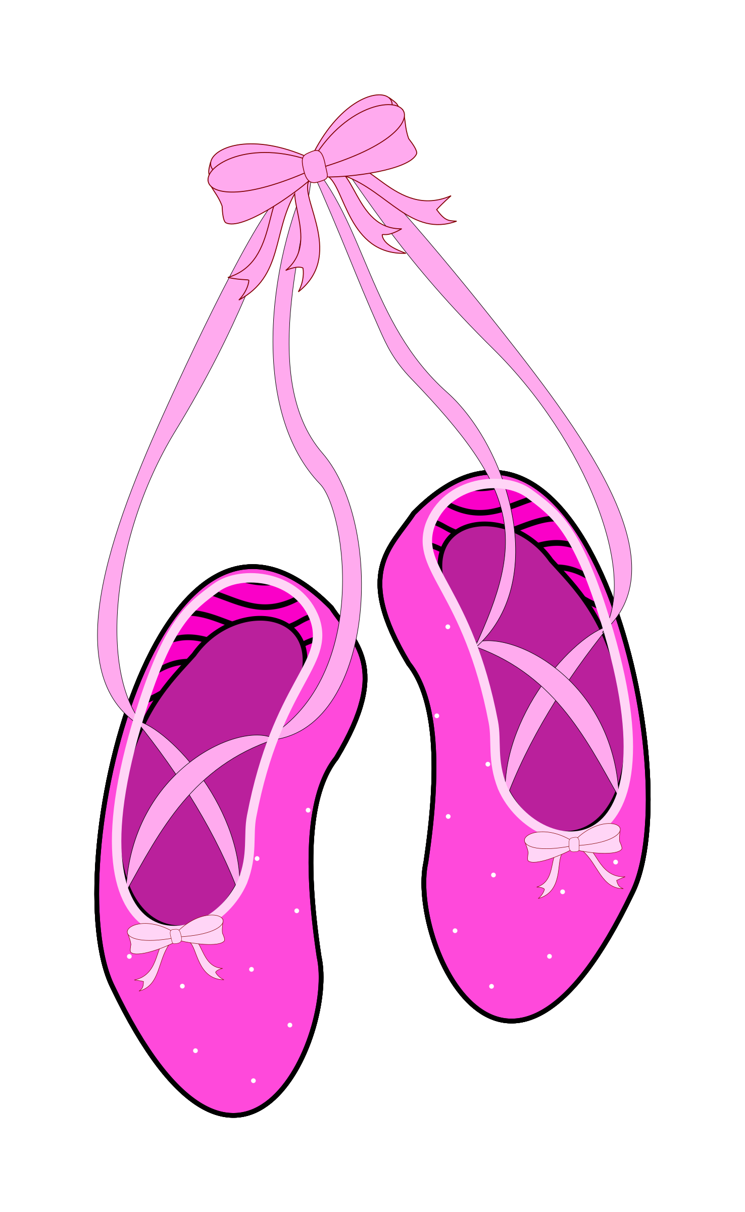 picture transparent download Slippers clipart. Ballet big image png.
