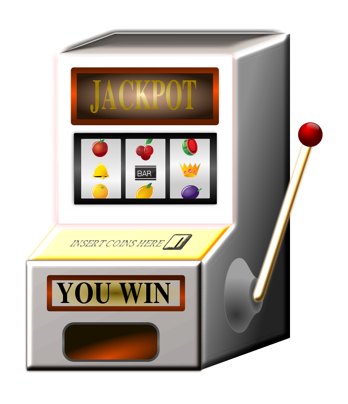 download Animated Slot Machine Clipart