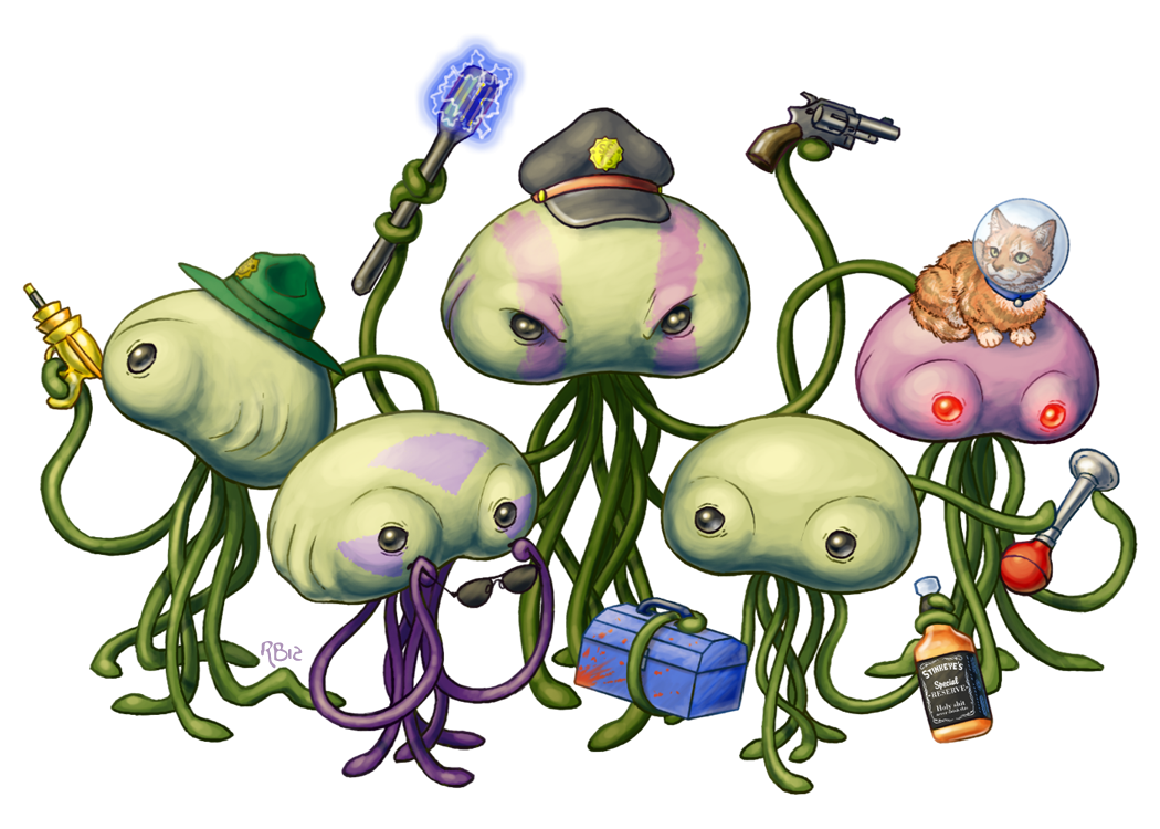 clip free Genocidal monsters from Mars by RacieB on DeviantArt