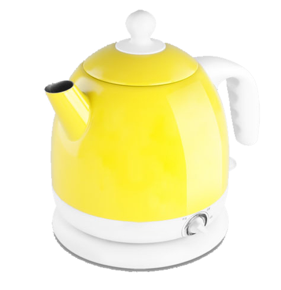 svg transparent download Electric kettle Electricity Yellow