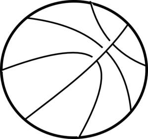 clipart royalty free library Basketball Ball Drawing at GetDrawings