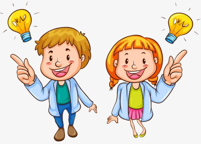 clipart stock Smart kid clipart. Png boy bulb clever