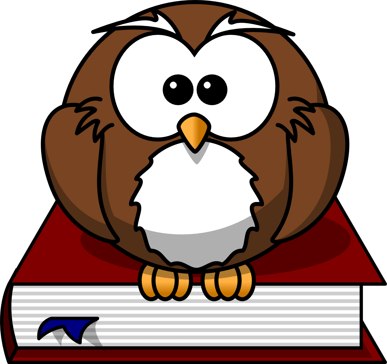 clipart transparent download Smart Owl Clipart