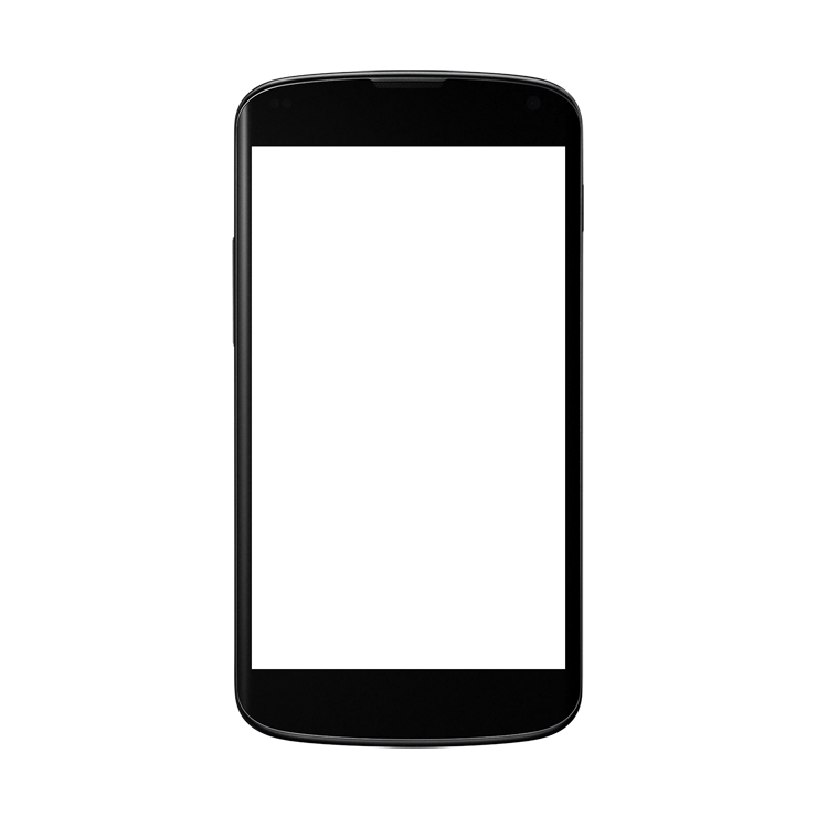 picture freeuse library Black android png image. Smartphone clipart.