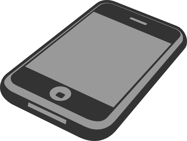 banner free stock Telephone clipart smartphone