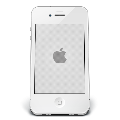 transparent library Apple icon png image. Iphone clipart black and white