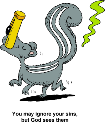 freeuse download Image stinky skunk you. Smell clipart.