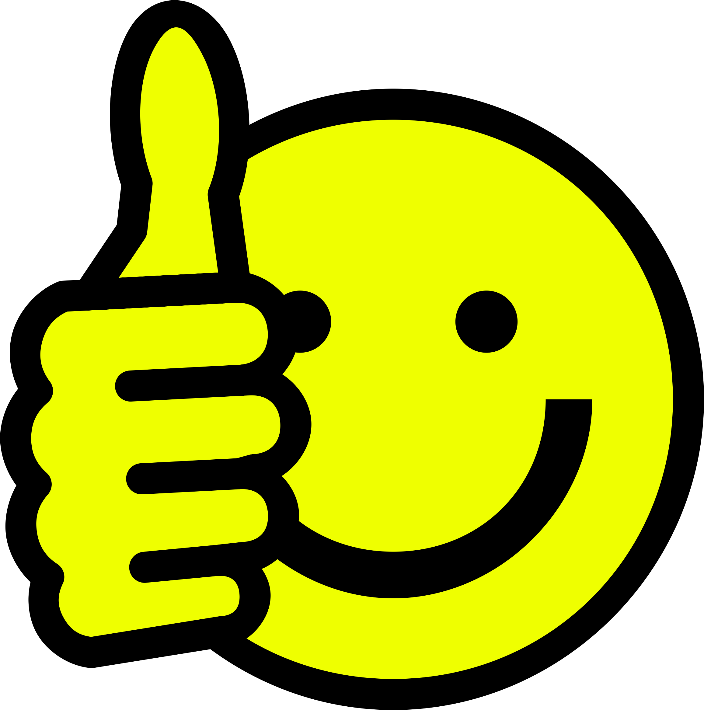 picture royalty free stock Thumbs clipart yellow. Smiley png images free