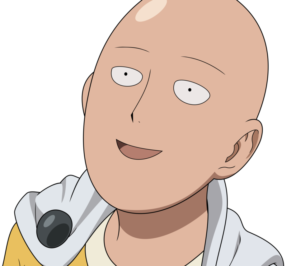 vector freeuse stock One Punch Man Clipart peanuts