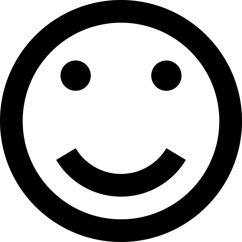 png black and white Smile Emoticon Smiley Face Svg Png Icon Free Download