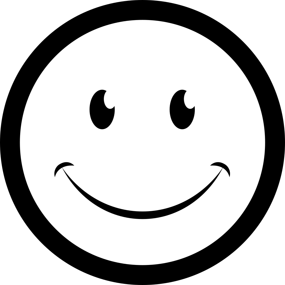 clipart transparent library Smile On The Face Svg Png Icon Free Download