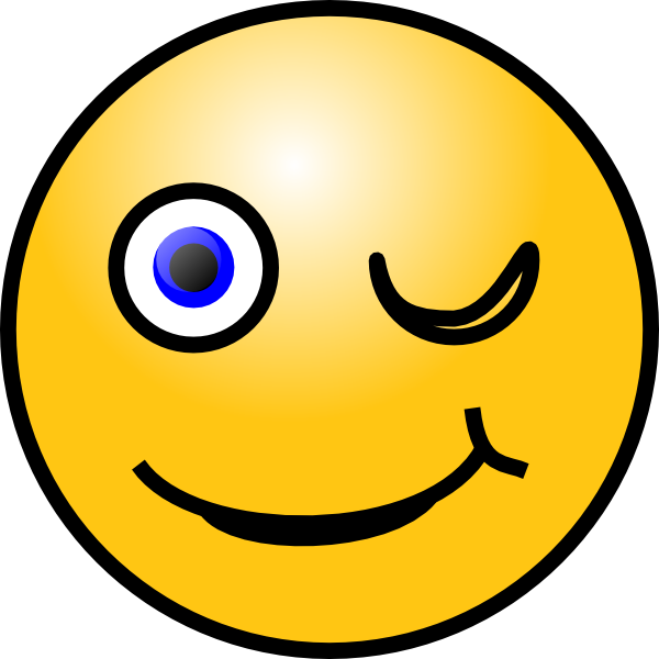 free download Smiley clipart. Wink clip art at.