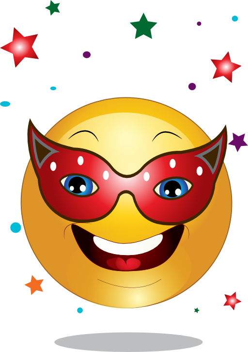 clip royalty free Party . Smiley clipart.