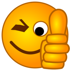 picture freeuse download Smiley Face Thumbs Up Cartoon