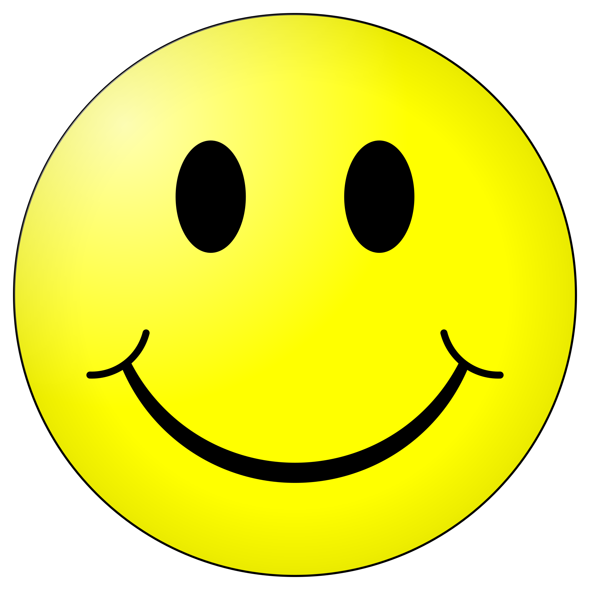 jpg black and white stock smiley transparent #87768559