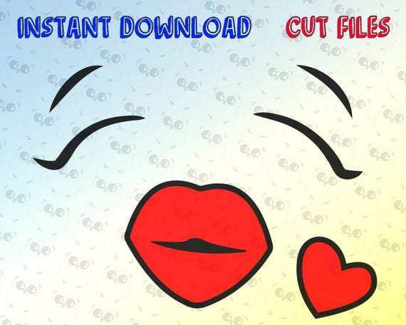 vector freeuse Face svg happy cutting. Smiley vector lip
