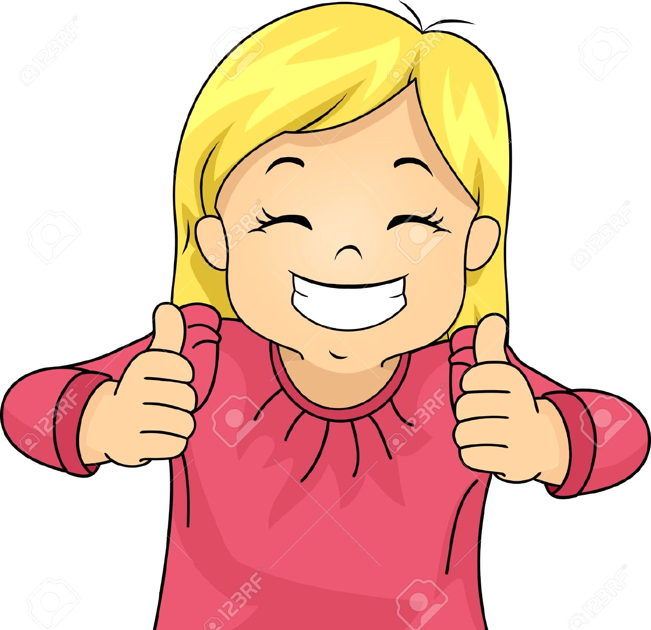 image black and white stock Smiling clipart. Girl station .