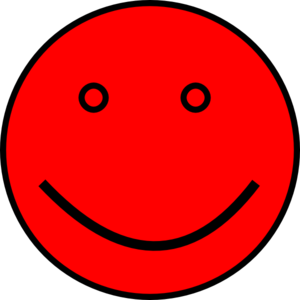 image transparent library Smiling clipart red. Face clip art at