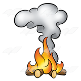 vector free library Abeka clip art fire. Smoke clipart