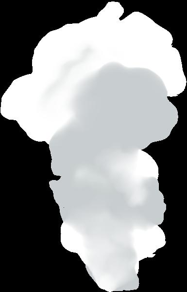 jpg black and white Transparent Smoke PNG Image