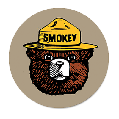 picture transparent Smokey the bear clipart. Bu web large png