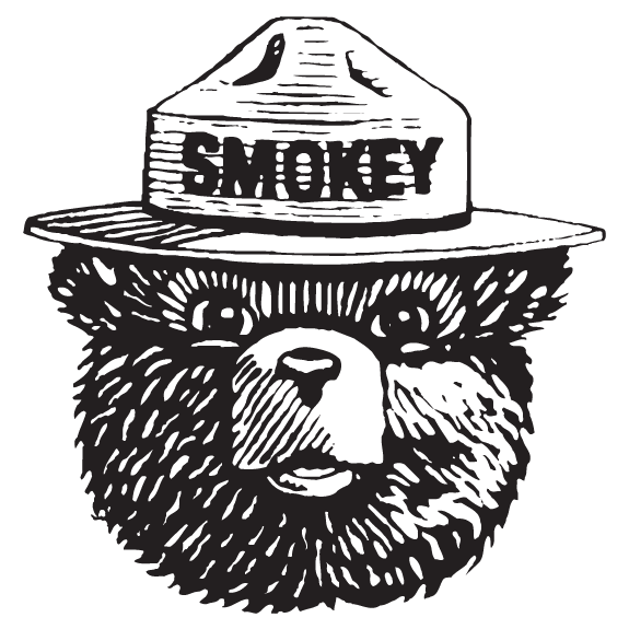 clip art transparent library Smokey the bear clipart. American icon significon