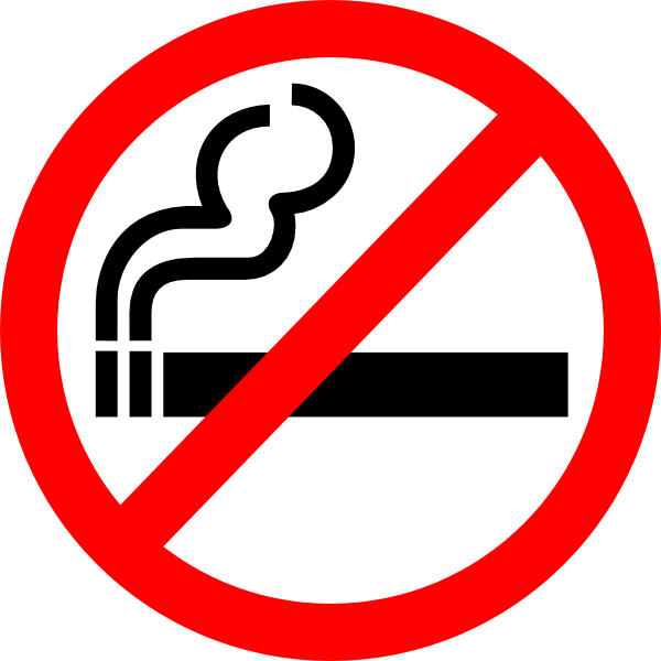 svg transparent Sign no clip art. Smoking clipart.