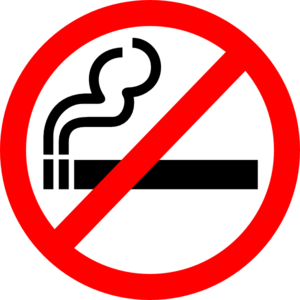 svg free download Sign No Smoking Clip Art at Clker