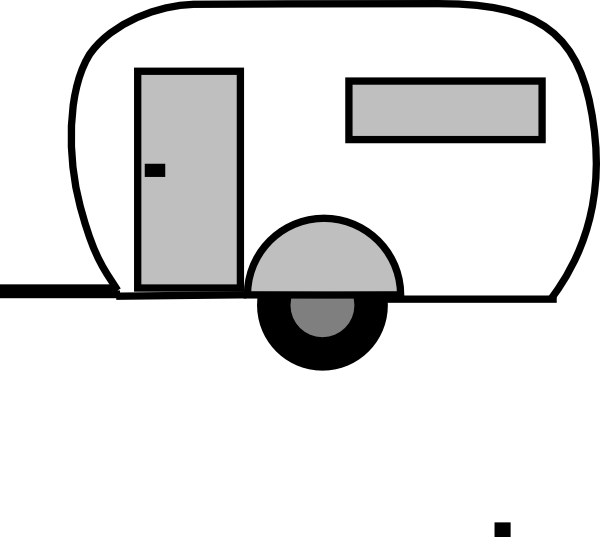 clipart transparent library Camper Silhouette at GetDrawings
