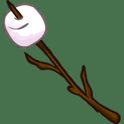 clip download Marshmallow Stick Clipart transparent PNG