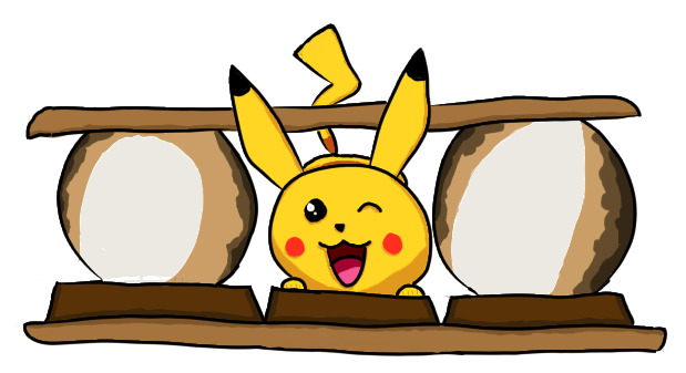 image black and white library Pikachu Smore by The