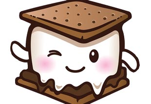 png freeuse download Smores clipart. Winked free cliparts